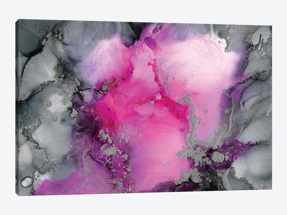 Stormy Pink by Amber Lamoreaux 1-piece Canvas Art Print