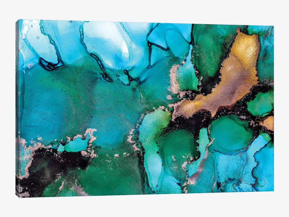 Turquoise Dream by Amber Lamoreaux 1-piece Canvas Art Print