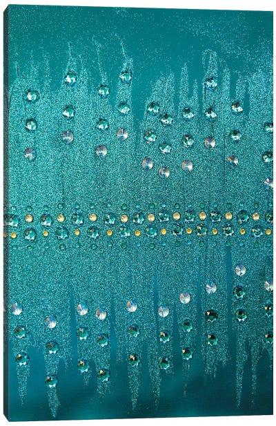 Turquoise Sparkle Canvas Art Print