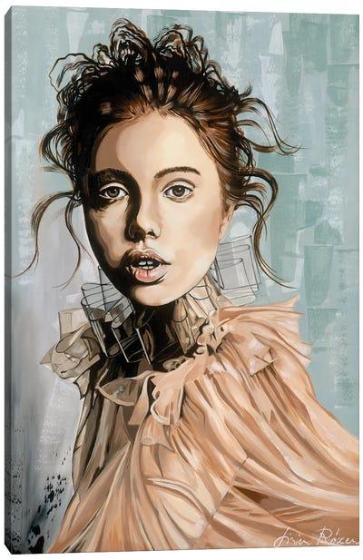 The Girl's Face 20/18 Canvas Art Print