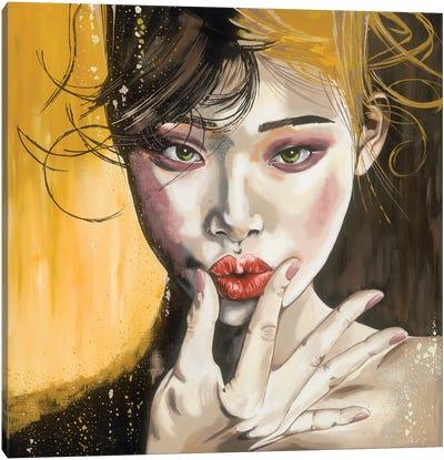 Lipstick Canvas Art Print