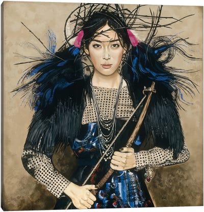 Amazing Warrior Canvas Art Print