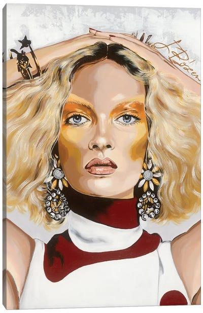Karen Canvas Art Print