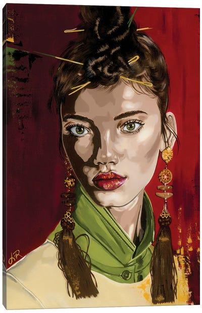Mellisa Canvas Art Print