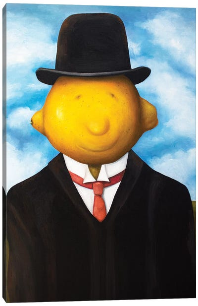 Lemon Head Canvas Art Print
