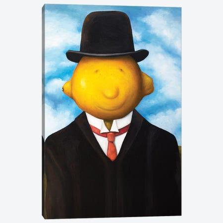 Lemon Head Canvas Print #LSA102} by Leah Saulnier Canvas Artwork