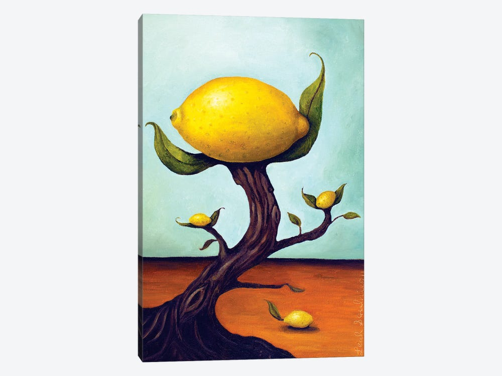 Lemon Tree Surreal by Leah Saulnier 1-piece Canvas Art