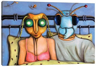 Love Bugs Canvas Art Print