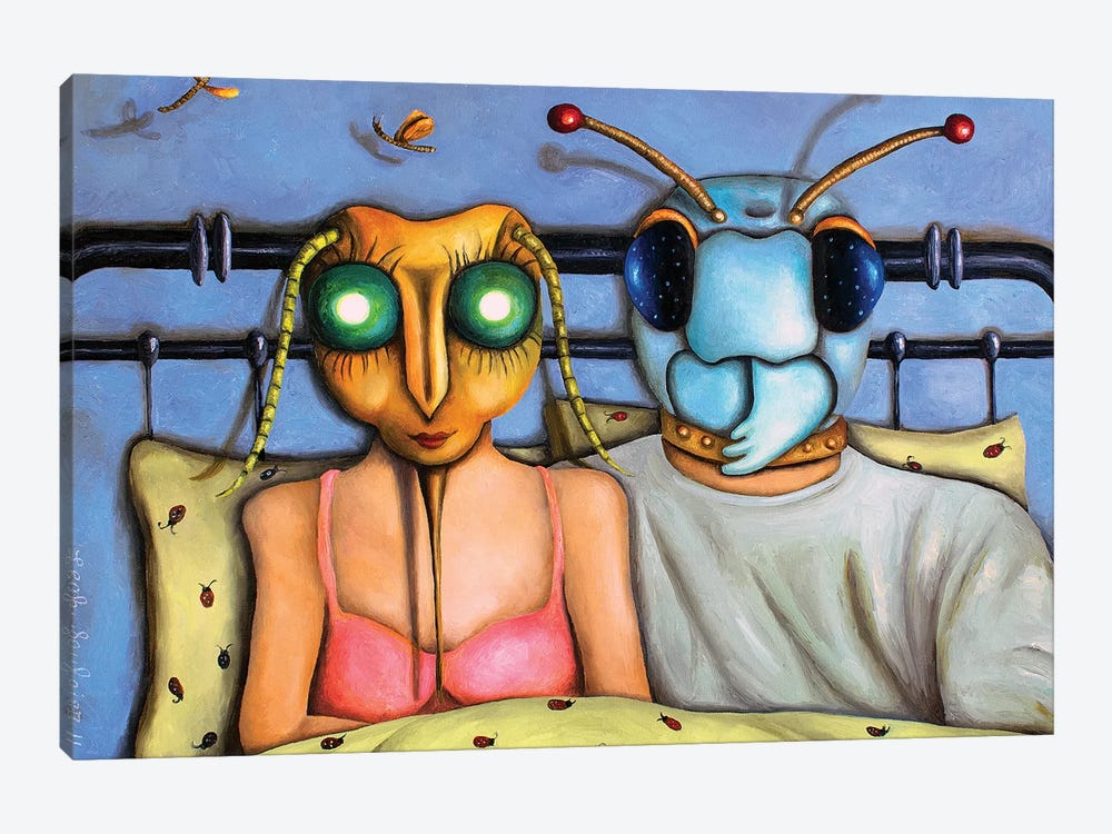 Love Bugs by Leah Saulnier 1-piece Canvas Art