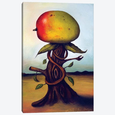 Mango Fruit Tree Canvas Print #LSA113} by Leah Saulnier Art Print