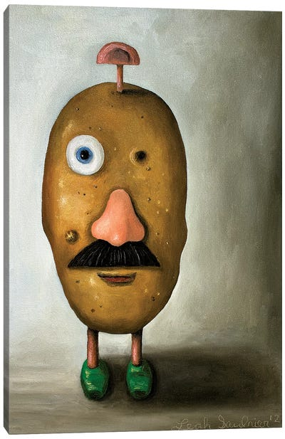 Misfit Potato II Canvas Art Print