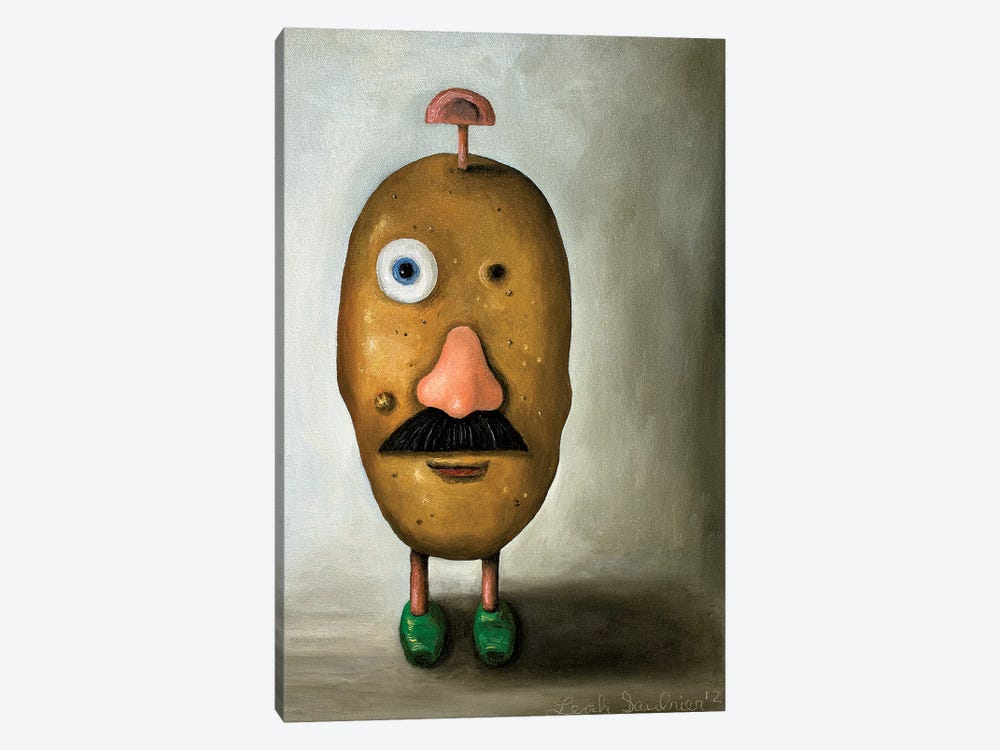 Misfit Potato II 1-piece Canvas Wall Art
