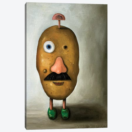 Misfit Potato II 3-Piece Canvas #LSA118} by Leah Saulnier Canvas Art Print