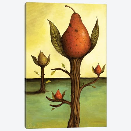 Pear Tree I Canvas Print #LSA136} by Leah Saulnier Canvas Art