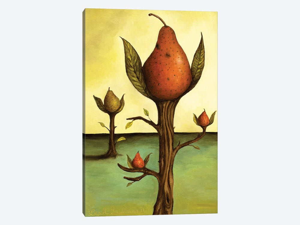 Pear Tree I by Leah Saulnier 1-piece Canvas Art