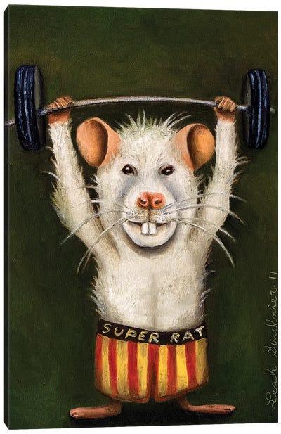 Super Rat Canvas Art Print