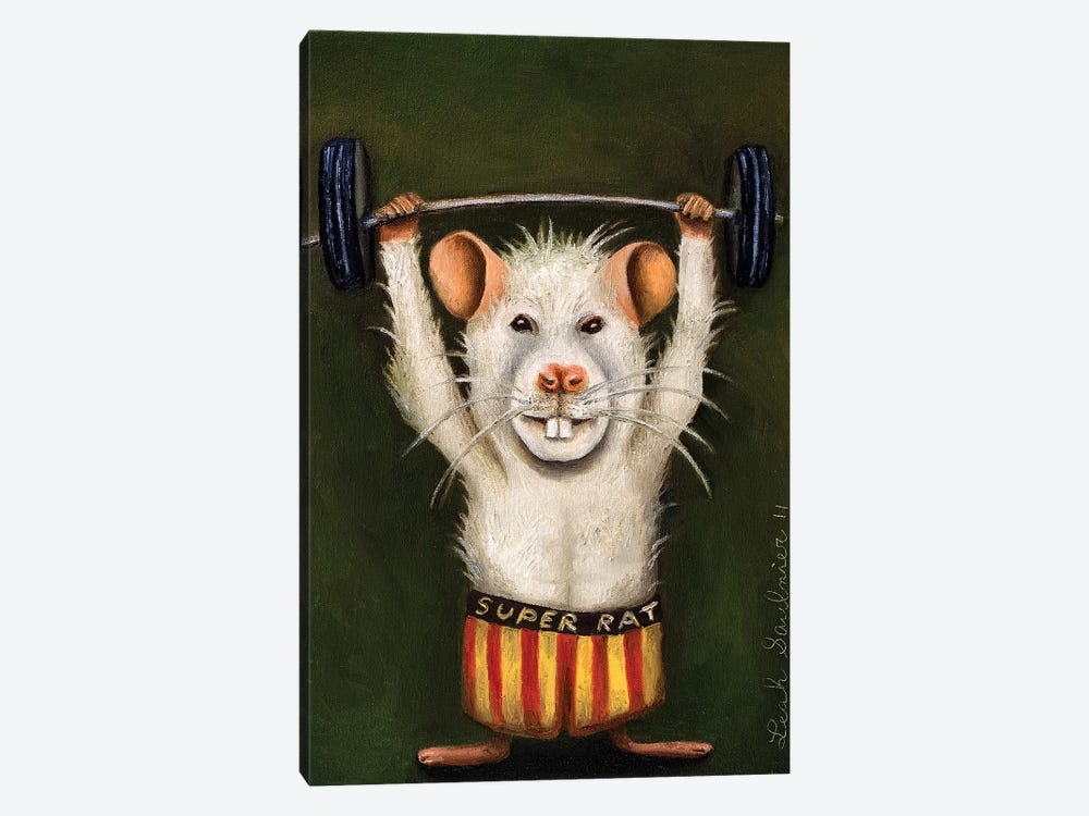 Super Rat by Leah Saulnier 1-piece Canvas Art