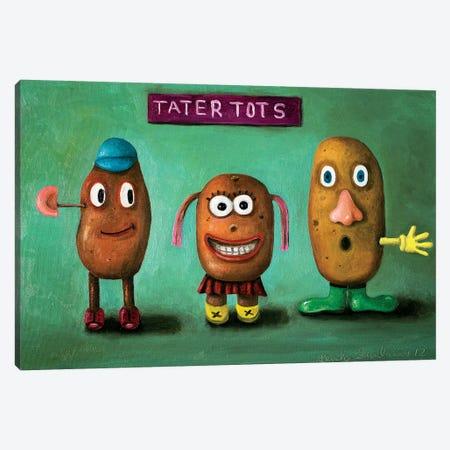 Tater Tots Canvas Print #LSA185} by Leah Saulnier Canvas Print