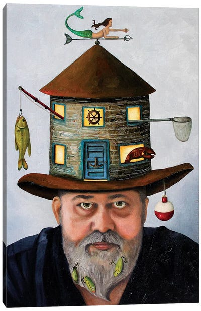 The Fisherman Canvas Art Print