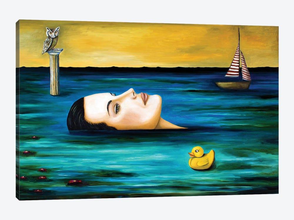 The Onlooker by Leah Saulnier 1-piece Canvas Wall Art