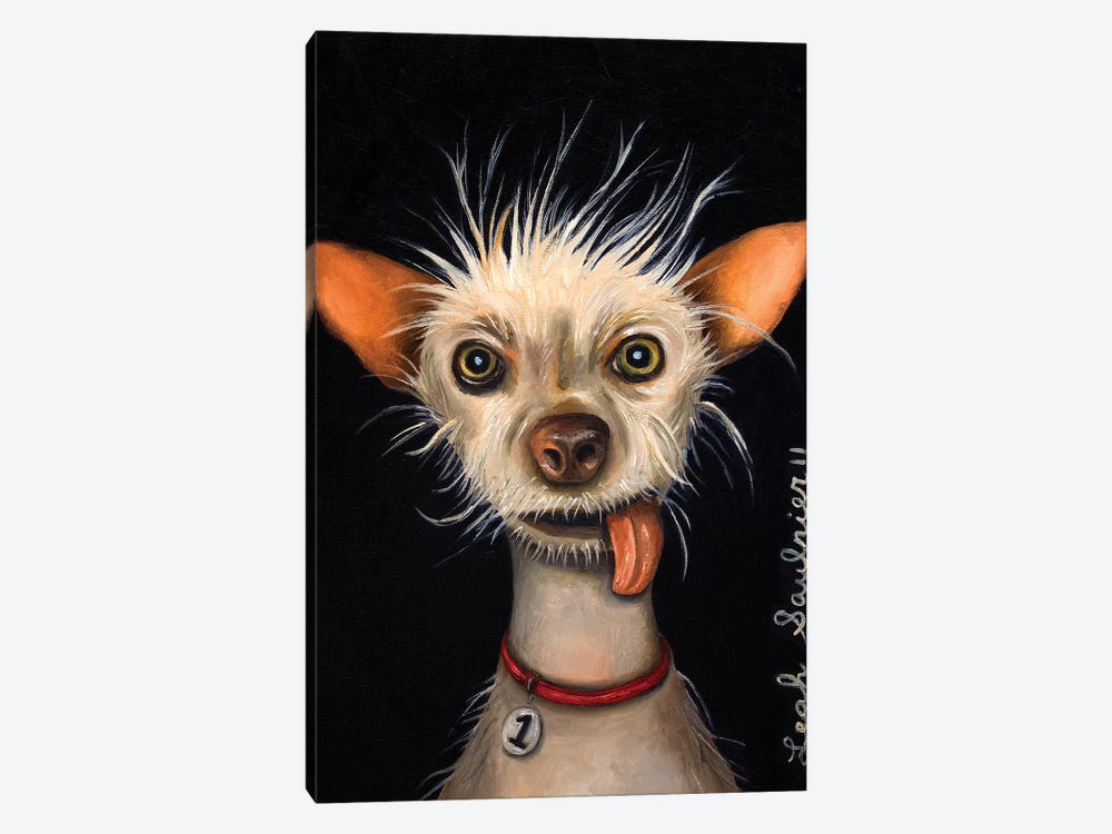 Ugly Dog by Leah Saulnier 1-piece Canvas Print
