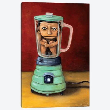 Uh Oh Canvas Print #LSA196} by Leah Saulnier Canvas Wall Art