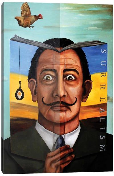 Book Of Surrealism Canvas Art Print