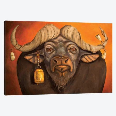 Buffalo Bells Canvas Print #LSA30} by Leah Saulnier Canvas Print