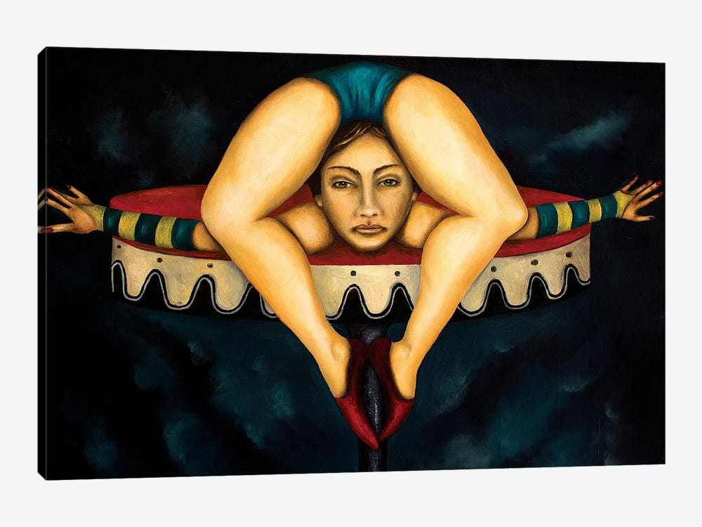 Contortionist by Leah Saulnier 1-piece Canvas Art Print