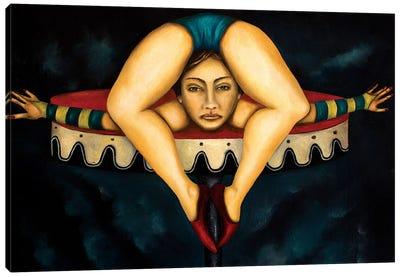 Contortionist Canvas Art Print