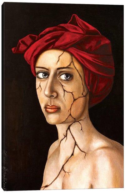 Fractured Identity Canvas Art Print