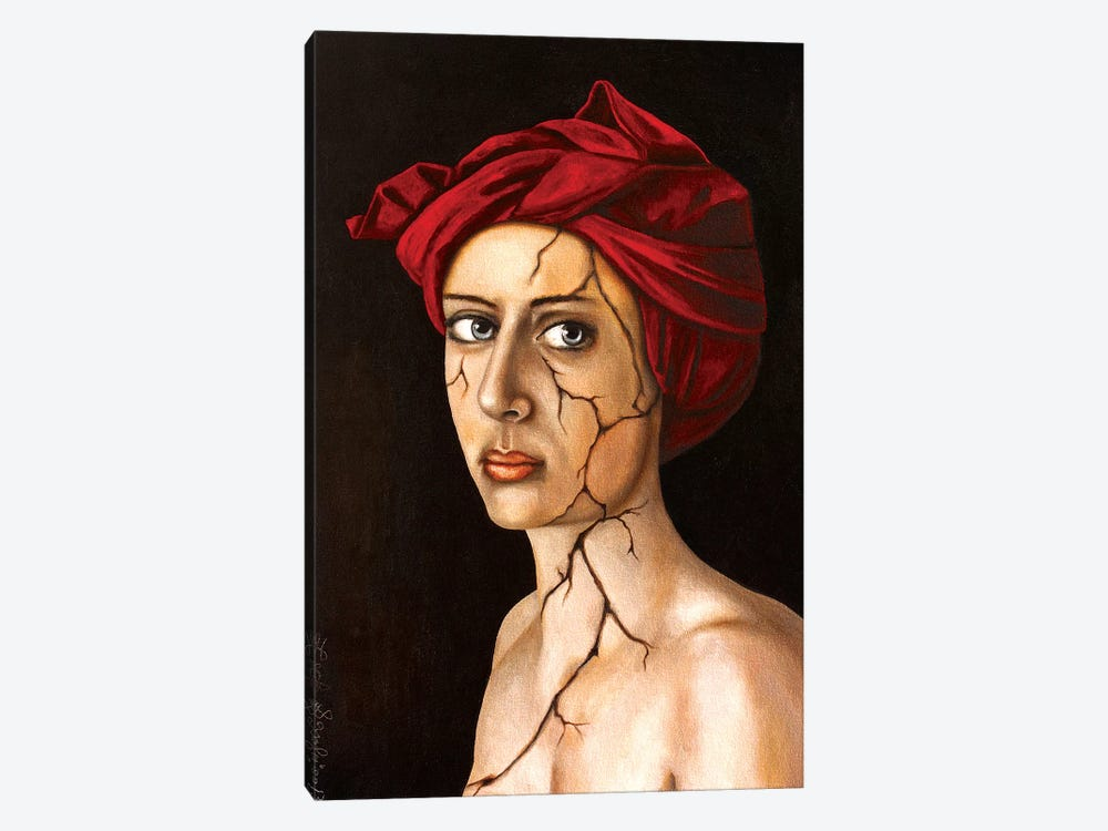 Fractured Identity by Leah Saulnier 1-piece Canvas Print