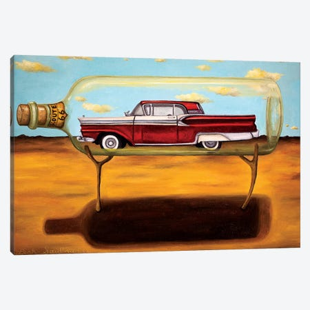 Galaxie In A Bottle Canvas Print #LSA73} by Leah Saulnier Canvas Print