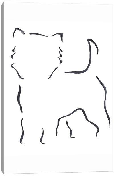 West Highland White Terrier Canvas Art Print