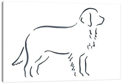 Bernese Mountain Dog Canvas Art Print