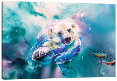 Chasing Char Canvas Art Print