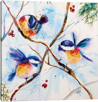 All A-Flutter Canvas Art Print