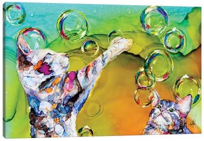 Double Bubble Canvas Art Print