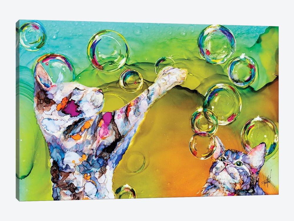 Double Bubble by Art by Leslie Franklin 1-piece Art Print