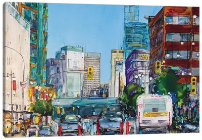 Eastbound Portage Canvas Art Print