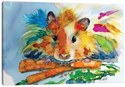 Eating My Veggies Canvas Art Print
