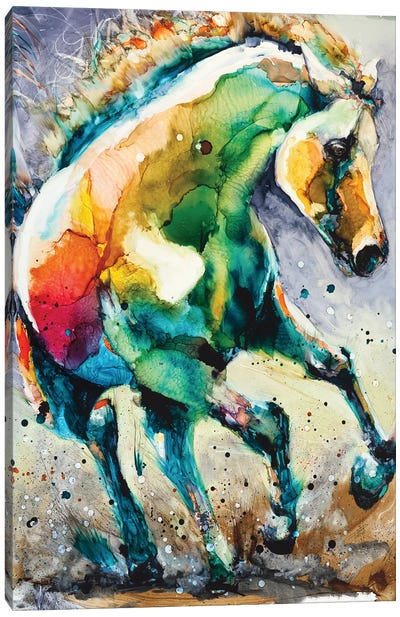 Horse of Another Color Canvas Art Print