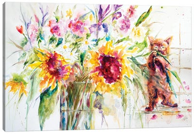 Almost a Still Life Canvas Art Print