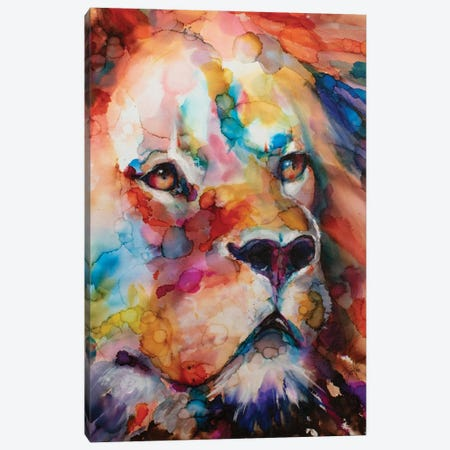 Leo Canvas Print #LSF36} by Art by Leslie Franklin Art Print