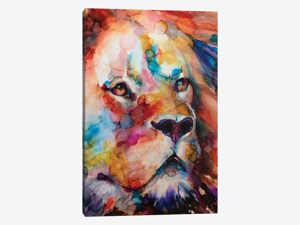 Leo by Art by Leslie Franklin 1-piece Canvas Print