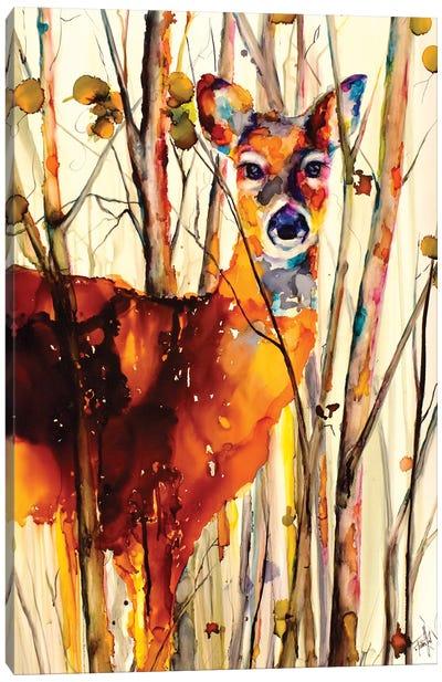 Oh Deer II Canvas Art Print