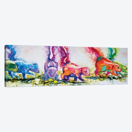 The Aromatherapists Canvas Print #LSF61} by Art by Leslie Franklin Canvas Print