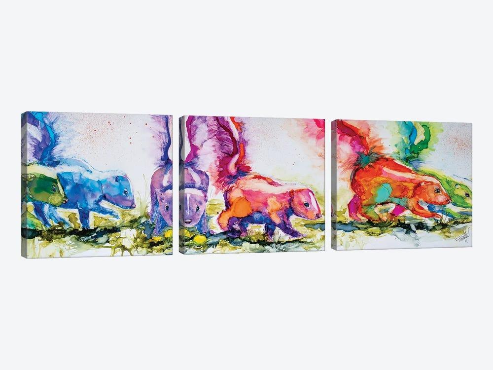 The Aromatherapists by Art by Leslie Franklin 3-piece Art Print
