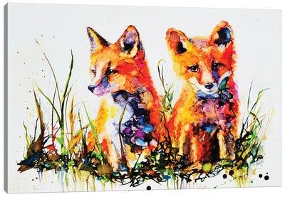 The Redhead Twins Canvas Art Print