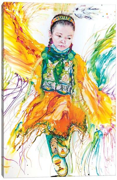 The Shawl Dancer Canvas Art Print